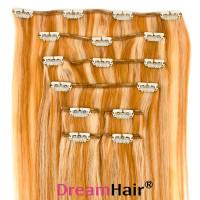 Clip-In Hair Extension 8pcs 40cm P27/613#