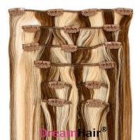 Clip-In Hair Extension 8pcs 40cm P6/60#