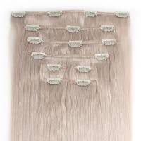 Clip-In Hair Extension 8pcs 50cm Whiteblond#