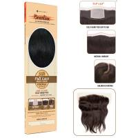 Bare & Natural Straight Closure Full Lace Ear to Ear Natural 30cm