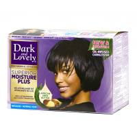 Dark and Lovely Moisture Plus No Lye Relaxer Regular for Normal Hair
