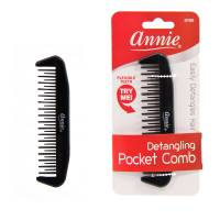 Detangling Pocket Comb Black