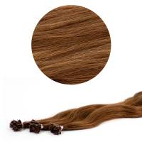 Nail Tip Hair Extension L-Wave 40cm 25kpl 6#