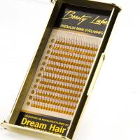 Premium 3D Eyelashes D-Curl 0.07T 16mm