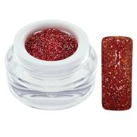 CH Nails Extreme Glitter Geeli Red 5ml