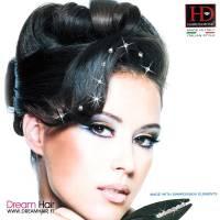 Swarovski Hairdiamond Silver Hiustimantit 6kpl
