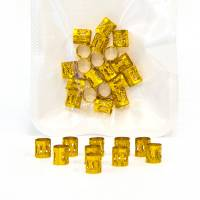 Hair Jewellery Gold 20 pcs