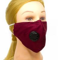 Fabric Face Mask With Ventilator BUR