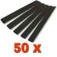 Premium File Wide Black 100/180 50pcs / pack
