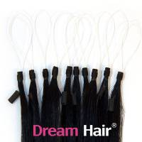 Micro Loop European Hair Extension 50cm 1#