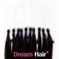 Micro Loop European Hair Extension 60cm 1B#