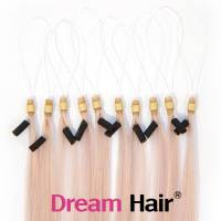 Micro Loop European Hair Extension 40cm ICE#