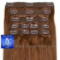 Luxury Clip-In Hair Extension Miss Finland Edition 200g/50cm 6#