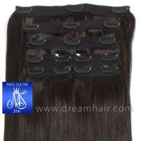 Luxury Clip-In Hair Extension Miss Finland Edition 200g/50cm 1B#