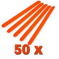 Professional File Neon Orange 180/240 50pcs / pack