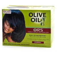 Olive Oil Relaxer Kit Contains Nine (9) Items