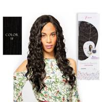 Premium Blended Natural Curl Weave & Closure 1#