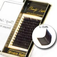 Premium Mink Voluumiripset L-Curl 0.07T x 10mm