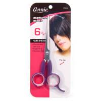 "Annie Hair Cutting Scissors 6.75"" Purple"