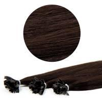 Nail Tip Hair Extension 40cm 25kpl 1B#