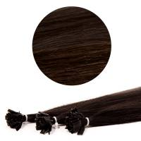 Nail Tip Hair Extension 70cm / 25pcs / 25g / 2#