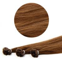 Nail Tip Hair Extension 40cm 25kpl 6#