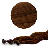 Nail Tip Hair Extension B-Wave 50cm 4#