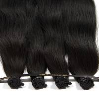 DreamHair Slavic Nail Tip Hair 25kpl / 25g / 50cm 1#
