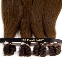 DreamHair Premium Slavian Nail Tip Hair 25kpl / 25g / 40cm / 10#
