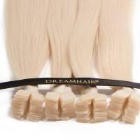 DreamHair Premium Slavian Nail Tip Hair 25kpl / 25g / 40cm / 1001#