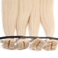 DreamHair Premium Slavian Nail Tip Hair 25kpl / 25g / 40cm / 24#