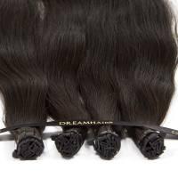 DreamHair Premium Slavian Nail Tip Hair 25kpl / 25g / 50cm 4#