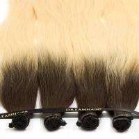 DreamHair Premium Slavian Nail Tip Hair 25kpl / 25g / 50cm / 6-DB2#