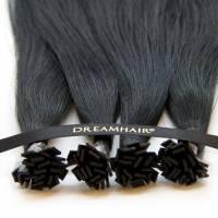 DreamHair Slavic Nail Tip Hair 25kpl / 25g / 50cm / 1B#