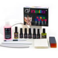 CH Nails Cat Eye Geelilakka Aloituspakkaus