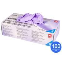 Vitril Gloves Powder Free Size M 100 pcs