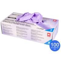 Vitril Gloves Powder Free Size S 100 pcs