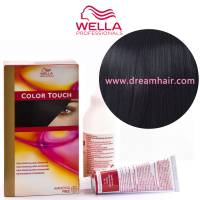 Wella Color Touch Demi Permanent Hair Color Home Kit 2/0