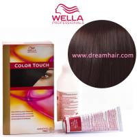 Wella Color Touch Demi Permanent Hair Color Home Kit 4/77