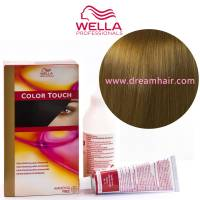 Wella Color Touch Demi Permanent Hair Color Home Kit 7/0