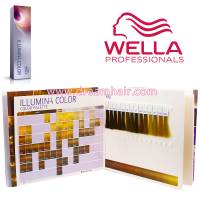 Wella Illumina Color Chart