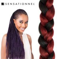 X-Pression Ultra Braid #1B/BURG