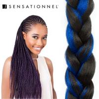X-Pression Ultra Braid #1B/Blue