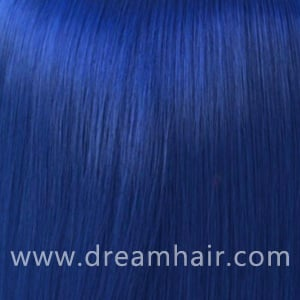 Hair Extensions Color Blue#