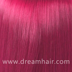 Hair Extensions Color Pink#