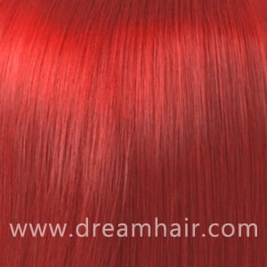 Hair Extensions Color Red#